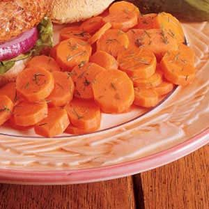 Carrots with Dill