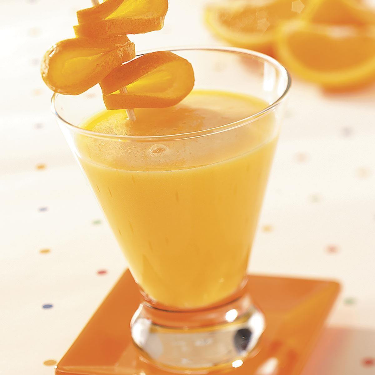 Creamy Orange Drink
