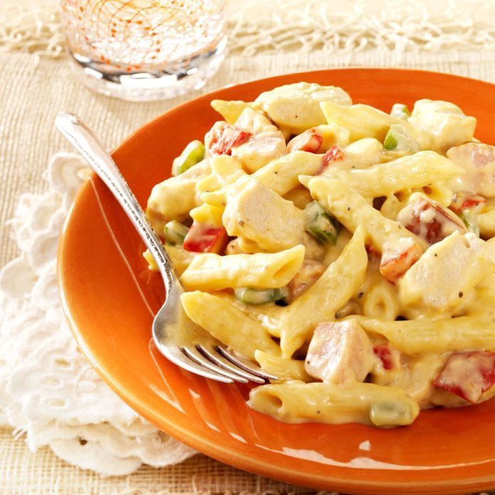 Chicken and Sausage Penne
