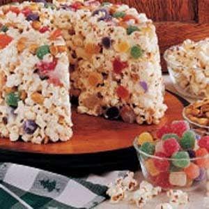 Popcorn Candy Cake