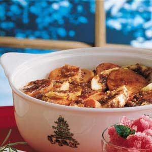 Healthy Apple Sweet Potato Bake