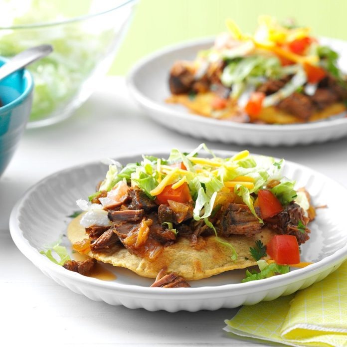 Day 5: Slow Cooker Beef Tostadas