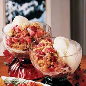 Favorite Cran-Apple Crisp