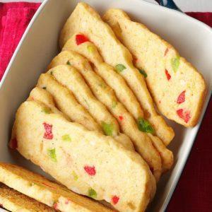 Jeweled Cookie Slices