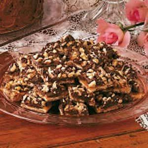 Soda Cracker Chocolate Candy