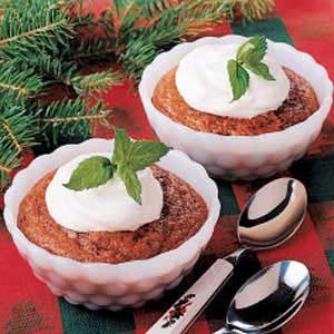 Chocolate Pudding Cake Cups