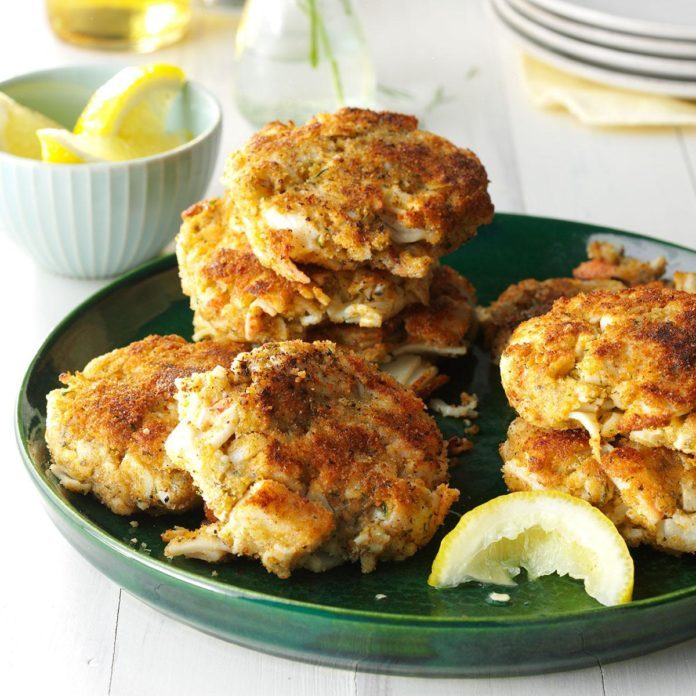 Heavenly Crab Cakes