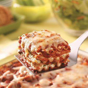 Hearty Chicken Lasagna