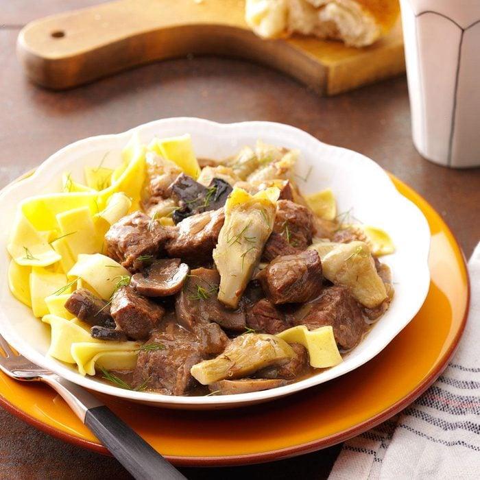 Artichoke Beef Stew