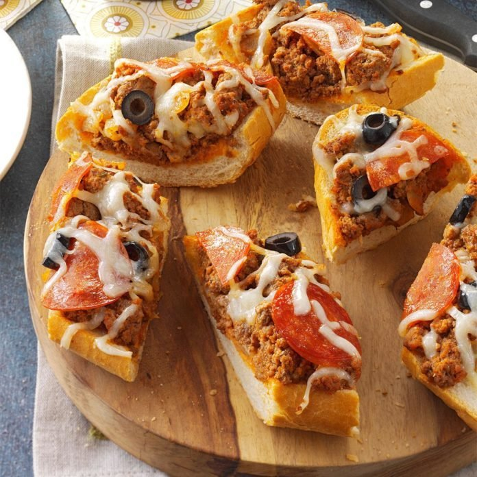 Grilled Pizza Bread