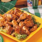 Barbecued Hot Wings