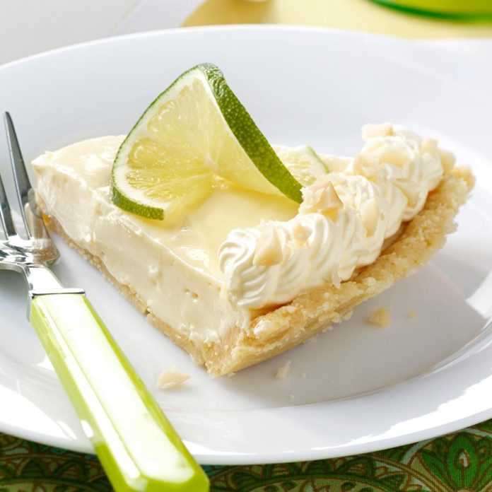 Macadamia Key Lime Pie