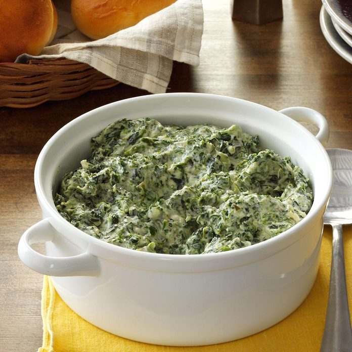 Inspired by: Boston Market's Creamed Spinach