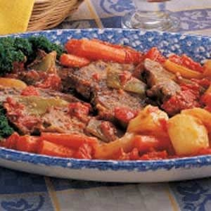 Swiss Steak Supper