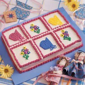 Prairie Birthday Cake