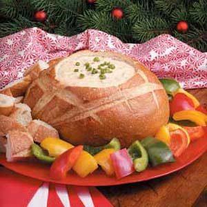 Potluck Bread Pot Fondue