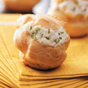 Holiday Appetizer Puffs