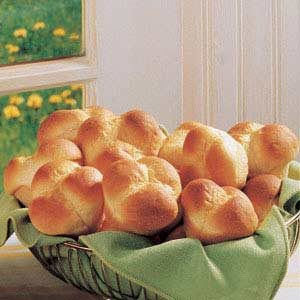 Cloverleaf Potato Rolls