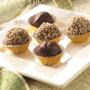 Chocolate Cinnamon Mud Balls