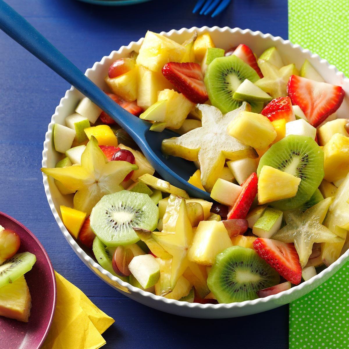 картинки для нарезки фруктов с рецептами оперение, простота