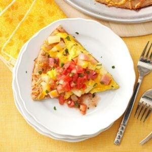 Egglands Best Hawaiian Breakfast Pizza