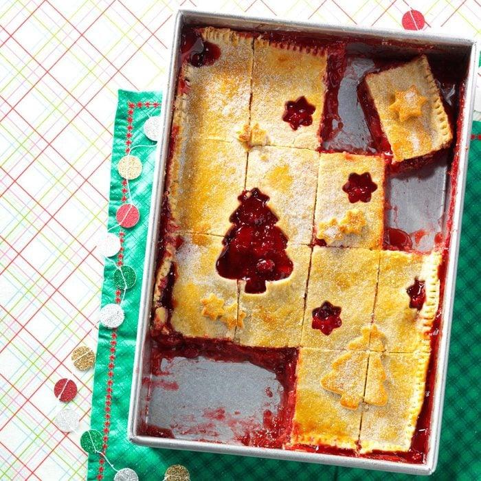 Day 8: Apple Cranberry Cutout Pie