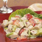 Curried Strawberry Chicken Salad