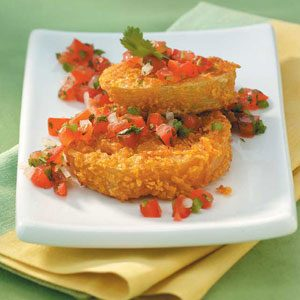 Contest-Winning Fried Green Tomatoes