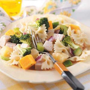 Chilled Turkey Pasta Salad