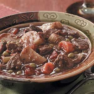 Chunky Baked Beef Stew