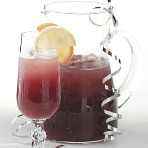 Bubbly Cranberry Punch