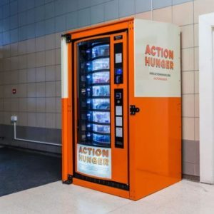 A Vending Machine For The Homeless Exists And The Food Is All Free