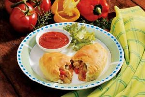 Sausage Pepper Calzones