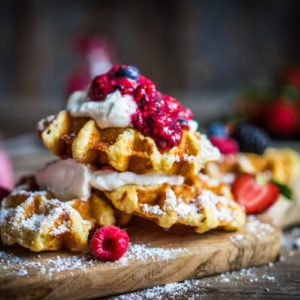 The Reason New Yorkers Can't Stop Putting Dinges on Their Waffles