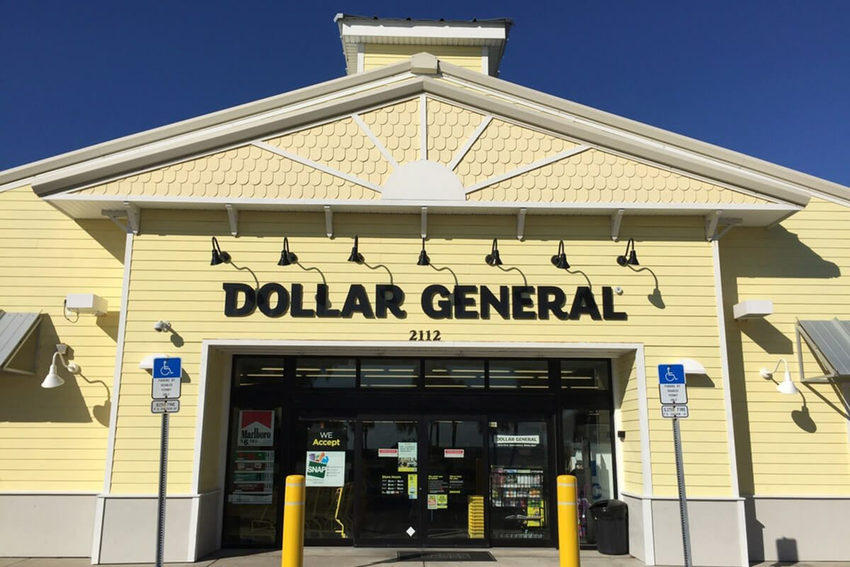 New Dollar General store in this Florida beach town.