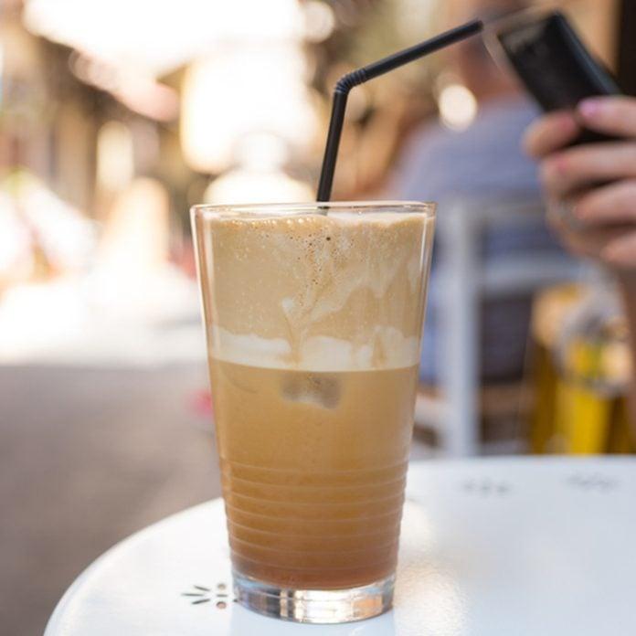 Greek Coffee in Rhodes; Shutterstock ID 490720774