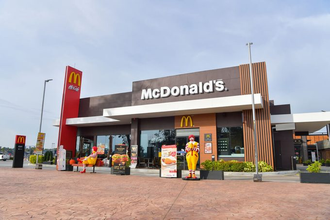 McDonald's in Thailand, Corporation is the world's largest chain of hamburger fast food restaurants