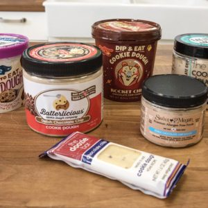 We Tried 6 Kinds of Edible Cookie Dough. Find Out What We Thought.