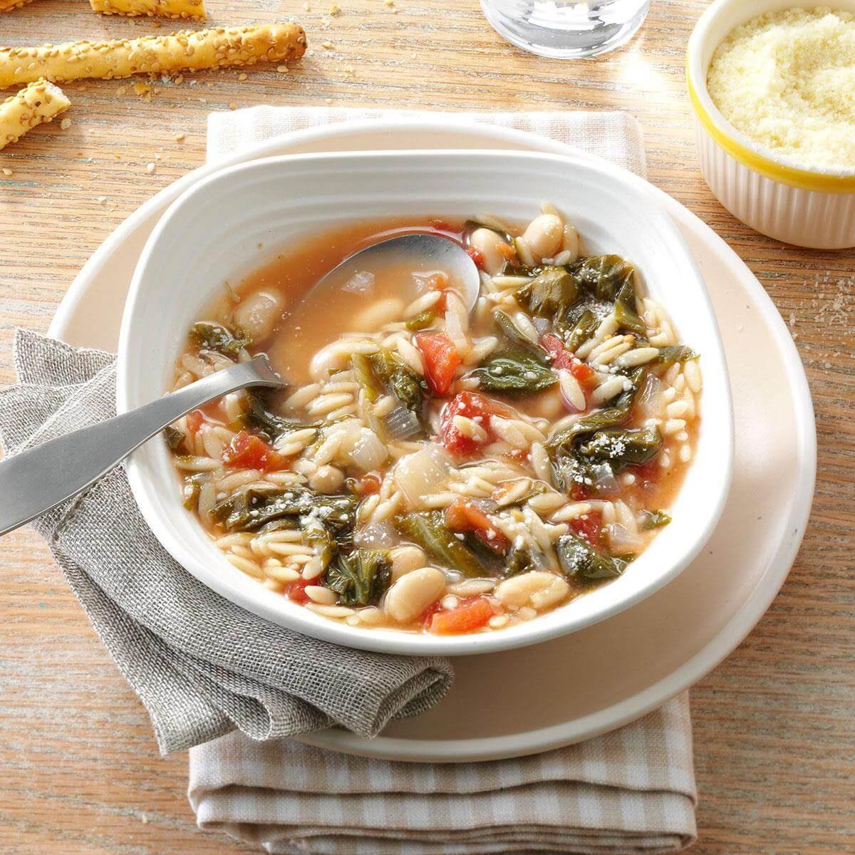 White Bean Soup With Escarole Recipe