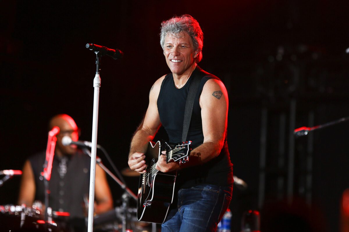 ENDICOTT, NY-Aug 18: Jon Bon Jovi performs in concert at En-Joie Golf Course on August 18, 2017 in Endicott, New York.