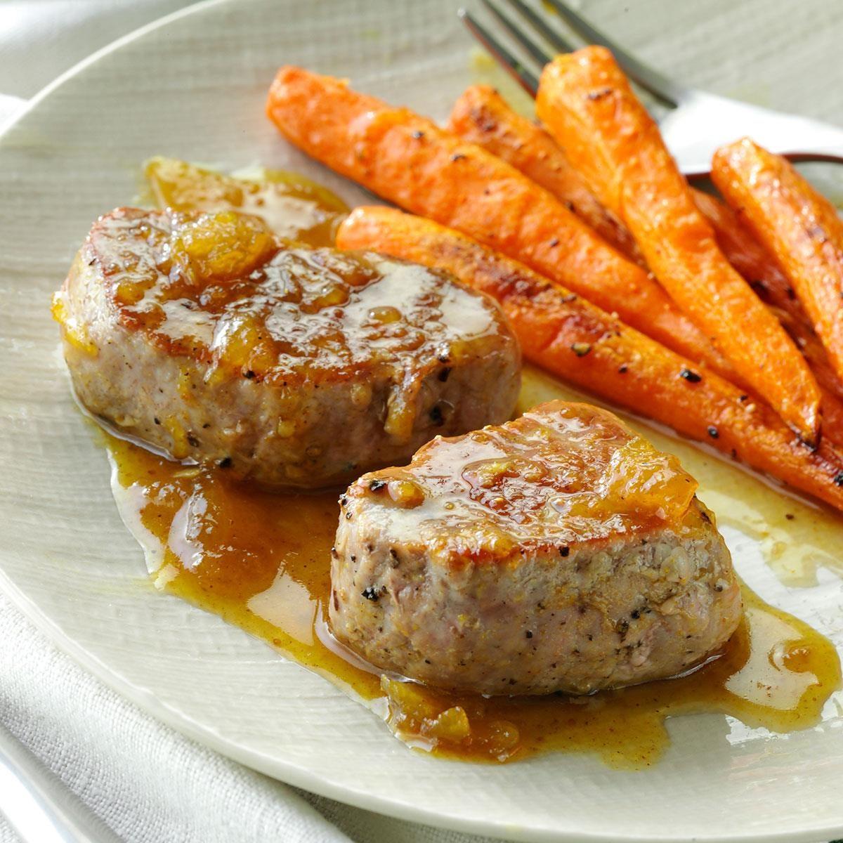 Pork Tenderloin Recipes: Fig-Glazed Pork Tenderloin Recipe