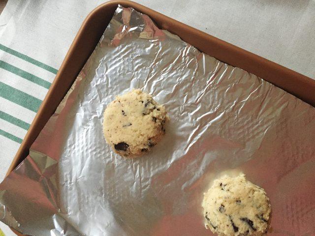 Pan bang cookie dough
