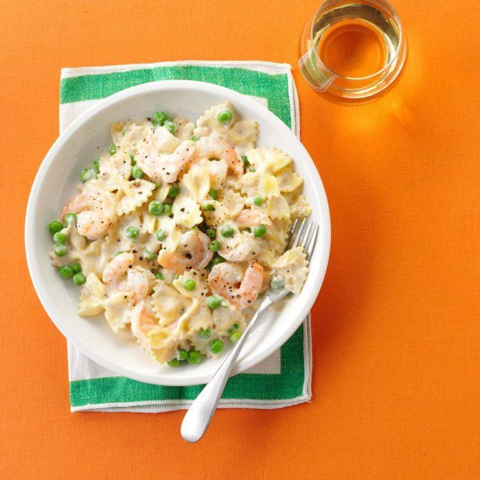 Shrimp Pasta Alfredo Recipe Taste Of Home