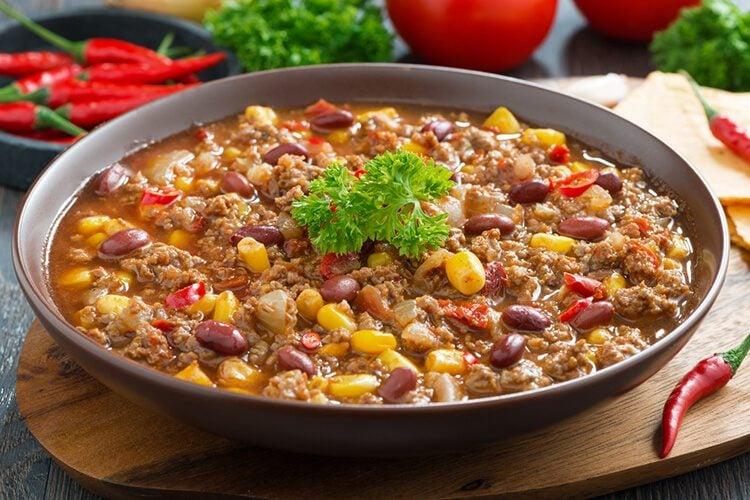 Fiesta chili supper