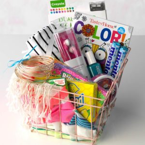 Easter basket ideas taste of home teen gift basket idea negle Choice Image