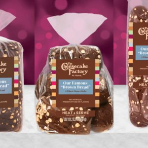 Cheesecake Factory Brown Bread Is Now Being Sold in Grocery Stores