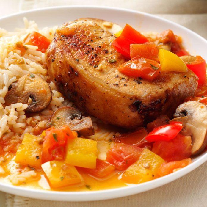 Day 5 Dinner: Pizzaiola Chops