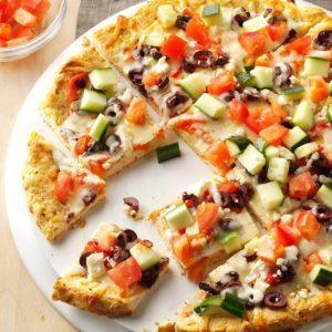 Turkey Gyro Pizza
