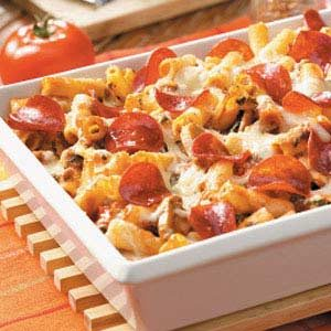 Pepperoni Ziti Casserole
