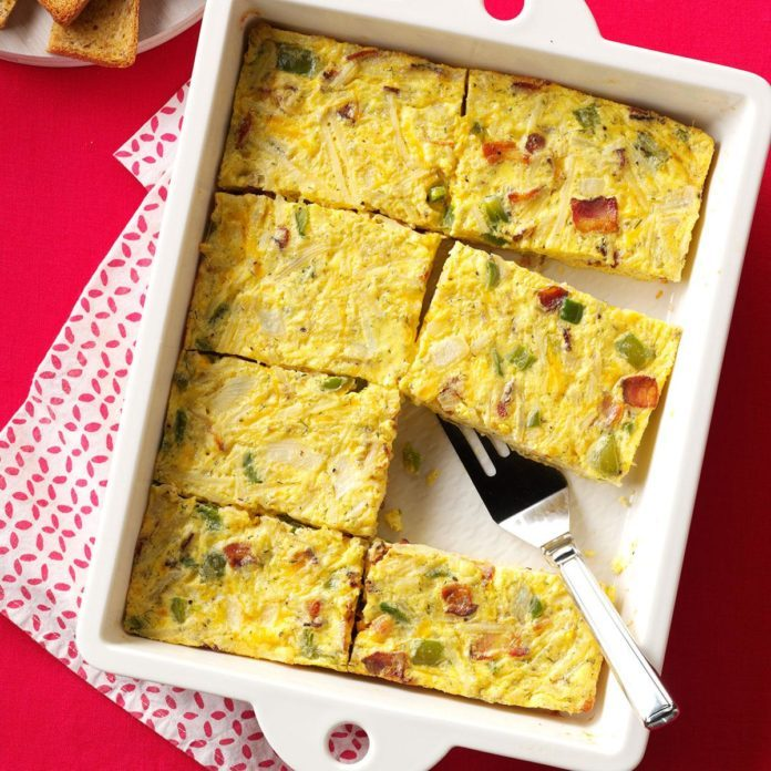 Sunday Brunch Egg Casserole Recipe | Taste of Home